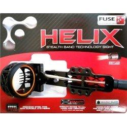 Прицел Fuse Helix Gang 3 Pin Black для блочного лука