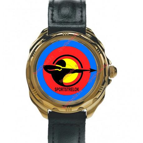 Часы с лого