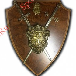 """Панно """"Наполеон"""" с 2 мини мечами"""