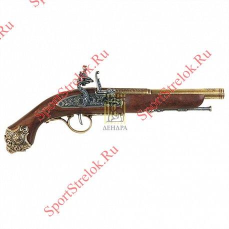 Пистолет кремниевый 18век, 1077L