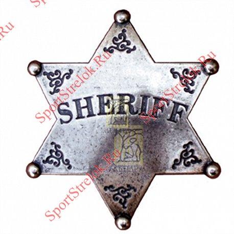 Звезда Шерифа шестиконечнаяЗвезда Шерифа шестиконечная