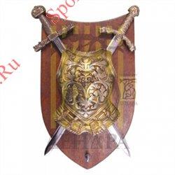 Панно 2 меча с нагрудником