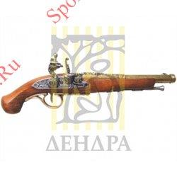 Пистолет кремниевый, 18 век D-1102