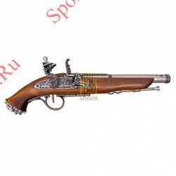 Пистолет пиратский 18век Denix 1103, никельПистолет пиратский 18век Denix 1103, никель