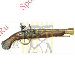Пистолет-мушкетон кремниевый Лондон XVIII век D-1219