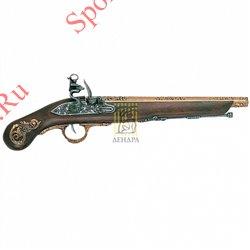 Пистолет кремниевый Италия XVIIв., 1045LПистолет кремниевый Германия ХVIIIв, 1045L