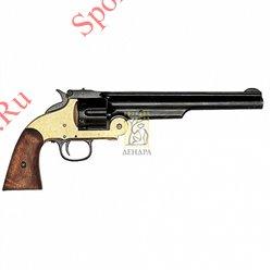 Револьвер Смит&Вессон 1869г, латуньРевольвер Смит&Вессон образца 1869г
