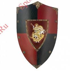 Щит Art-Gladius Черный принц, черно-красный 871