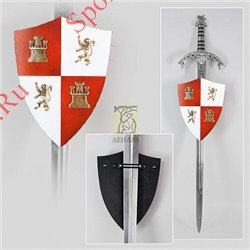 Мини-щит декоративный Короли католики