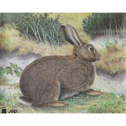 Мишень Кролик из армированной бумаги