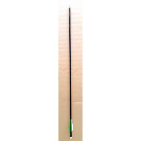 """Стрела текстолитовая с инсертом и вкручивающимя наконечником 30"""""""