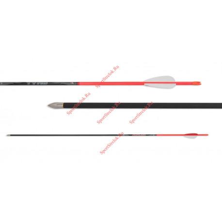 Стрела для лука AVALON Tyro 4.2 Neon RED 600, 700, 800 карбоновая