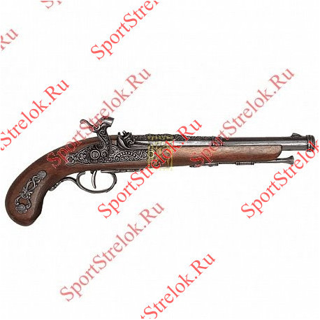 Пистолет кремниевый Франция 1872г 1014 сталь