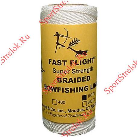 Линь плетеная Fast Flight 100 ft 200 lbs