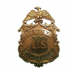 Значок Deputy U.S. Marshal 112L