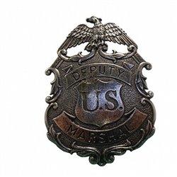 Значок Deputy U.S. Marshal 112NQ