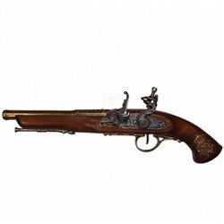 Пистолет кремниевый, Франция, ХVIII век, Denix 1127L