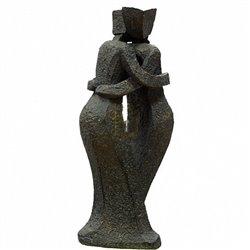 """Статуэтка подарочная """"Здесь для тебя""""Хотите сделать приятный и памятный подарок?Из какого материала сделана статуэтка?"""