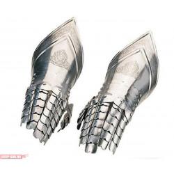 Перчатки рыцарские с гравировкой Marto 942