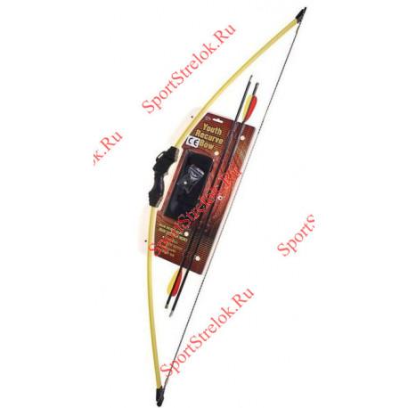 Лук Классический МК-RB008 желтый - детский
