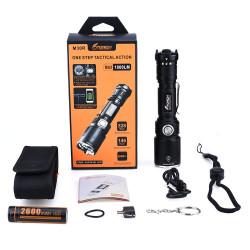 Фонарь FiTorch M30R тактический (USB зарядка, Power Bank)