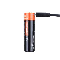 Аккумулятор 14500 FiTorch (750 mAh) с зарядкой USB