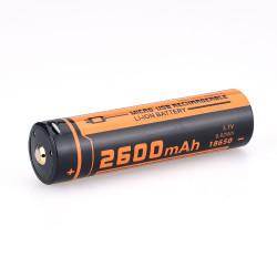 Аккумулятор 18650 FiTorch (2600 mAh) с зарядкой USB