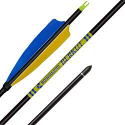 Стрела для лука Berkut натуральное оперение 5'' Parabolic (Беркут)