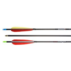 Стрела Bowmaster Patriot 400, оперение 5'' Feather Рarabolic