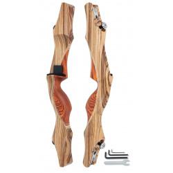 "Рукоять для лука Shade Zebra Wood 19"" ILF"